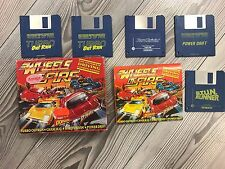 *** Wheels of Fire *** AMIGA *** Komplett in BOX *** Driving Compilation *** RAR