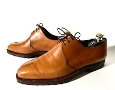 Brioni Light-Brown Leather Lace-Up Shoes Size 42, UK-8, US-9