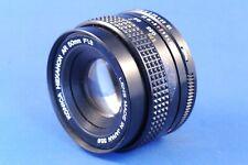 Konica Hexanon AR 50 mm , F 1.8,  Prime    Lens