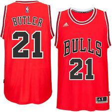 77b45117e3b Chicago Bulls Jimmy Butler adidas Red Player Swingman Basketball Jersey XL