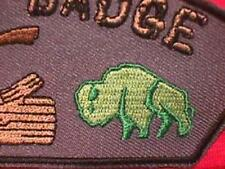 BUFFALO PATROL Wood Badge Cub Boy Scout Patch CSP