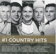 Hall of Fame Number 1 Country Hits - Various Artists CD 2017