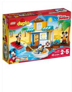 Lego 10827 Duplo  Mickey & Friends Beach House Brand New AU stock