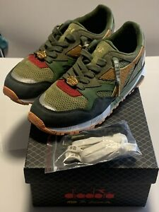 Diadora x Mita x Mighty Crown N9002 respect over hate US9 used n9000