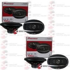 """4 x NEW PIONEER TS-A6990F 6"""" x 9"""" 5-WAY CAR AUDIO SPEAKERS 700W MAX"""