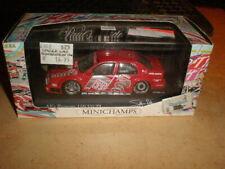 MINICHAMPS 1/43  Alfa Romeo 155 V6 ti Buttiero  no spoiler and rear wheel damage