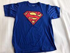 SUPERMAN Tee Small Blue