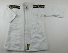 Vintage Matsuru Judo Jiu Jitsu Solid White Robe Size 1 No Belt Japan