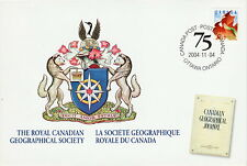 CANADA #S65 THE ROYAL CANADIAN GEOGRAPHICAL SOCIETY SPECIAL EVENT COVER