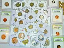 Estate Sale ! Vintage Coin & Currency Collection Lot ! 65 US COINS & 2 NOTES