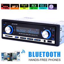 Bluetooth Black Car Stereo Audio 1 DIN In-Dash FM Radio Aux Input Receiver SD
