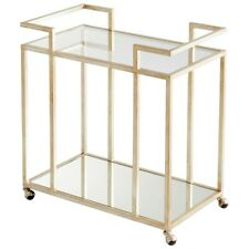 Cyan Design Revival Bar Cart, Antique Silver - 8834