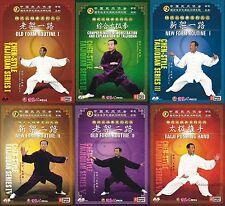 Chen Style Taijiquan - Chen style Tai Chi taijiquan Series by Wang Xi'an 15DVDs