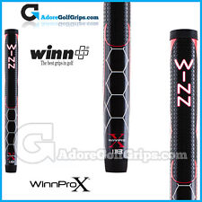 "Winn Pro X 1.18"" Midsize Paddle Lite Putter Grip - Black / Red / White"