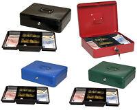 Geldkassette Wertkassette Münz Spardose Dokumenten kassette box 30x25x9cm, 90030