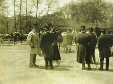 MEET of TANDEM CLUB in CENTRAL PARK NYC 1899 Art Matted