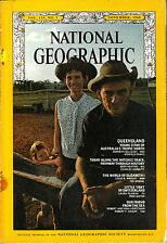 NATIONAL GEOGRAPHIC NOV 1968 QUEENSLAND NATCHEZ TRACE ELIZABETH I LITTLE TIBET