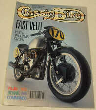Classic Bike 3/90 John Player Norton, Commando, NSU Supermax, Superfox, T140