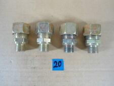 """4x Hydraulik Reduzierung 15L - 3/8"""""""