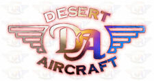 Red-hot Desert Aircraft Engine Graphics