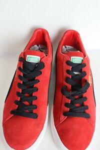 Puma Suede Classic jnc Ribbon Red- Black men size 10