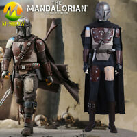 Star Wars The Mandalorian Cosplay Costume Vest Belt Accessories Halloween Props
