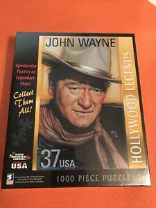 White Mountain John Wayne US Postage Stamp Hollywood Legends 1000 Piece Puzzle