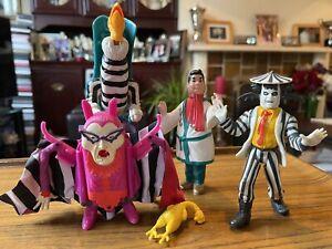 Beetlejuice 1989 Kenner Figures Showtime Beetlejuice/Otho /Teacher/ Buzzard