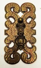 Brass Vintage Armoire Cabinet Knob Door Handle MCM Drawer Pull Antique Hardware