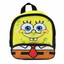 """Nickelodeon SPONGEBOB 10"""" inches Backpack For School BRAND NEW  Licensed Product"""