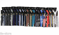PATTERN SUSPENDERS Colourful Print Costume Adjustable Clip On Braces Mens Womens