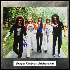 GFA x3 Neal Schon Rock Band * JOURNEY * Signed 11x14 Photo PROOF J3 COA