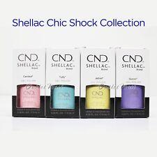 CND Shellac 2018 Chic Shock Collection UV Gel Nail Polish Color 7.3ml 0.25oz