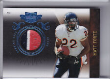 2010 PLATES & PATCHES #18 MATT FORTE 3-COLOR PATCH CHICAGO BEARS 20/50 0294