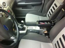 FORD FOCUS MK2 II (2004-2010) CENTRE CONSOLE ARMREST BLACK NEW - FREE POSTAGE