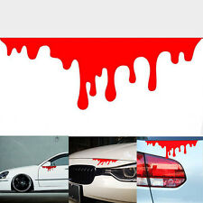 1Pcs Cool Bleeding Car Stickers Tail Light Window Decals Warning StickaBe