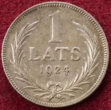Latvia 1 Lats 1924 (B2703)