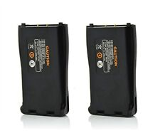 2Pcs Baofeng Replacement Li-ion Battery 1500mAh for 666S 777S 888S Two Way Radio