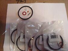 5 Carburetor repair kit Needle and Seat  bowl gasket replaces TECUMSEH 631021B