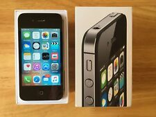 Apple iPhone 4S (Model A1387) Black 8GB - Boxed - Good Condition