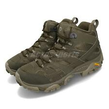 Merrell Moab 2 Mid GTX Wide Gore-Tex Olive Green Men Outdoors Shoes Boot J99773W