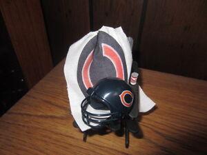 NFL NFC NORTH: CHICAGO, DETROIT, G.B., MINN. BEACH CHAIR CAKE TOPPER/ORNAMENT