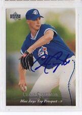 Chris Carpenter 1995 Upper Deck Minors signed autographed card Blue Jays