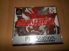 Videogiochi Metal Gear Solid konami per Sony PlayStation 1