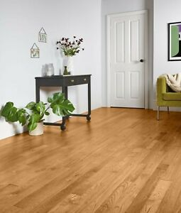 Style Classic Solid Oak Wood Flooring 1.62m2 (£25.80 per m2) SAVE 40% OFF RRP