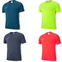 Nike Boys T Shirt Academy 19 Kids TShirt Short Sleeve Football T-Shirt Tops Size