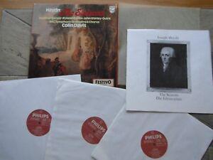 COLIN DAVIS HAYDN THE SEASONS 3 LP BOXED STEREO SET N/M