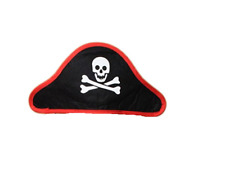 Black Pirate Skull and Crossbones On A Headband
