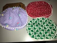 NEW CHILDS BERMUDA BAG HANDLES WITH 3 COVERS + BONUS PATTERN