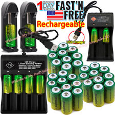 Lot Rechargeable CR123A Batteries 3.7V Lithium for Netgear Arlo Security Camera